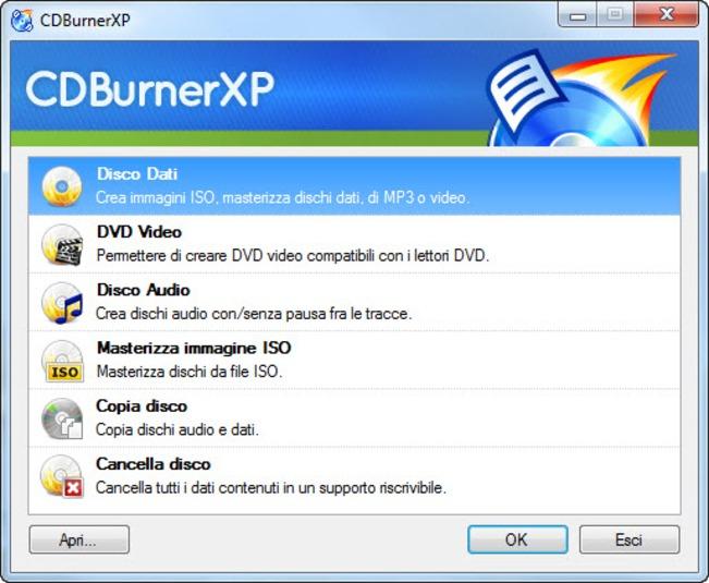 Masterizzare dvd cd iso e fare cd audio roba da for Programma per progettare giardini 3d gratis in italiano