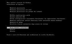 Avviare Windows 7 in Modalità provvisoria