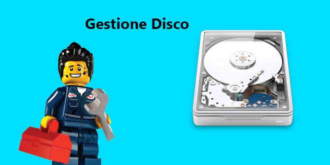 Gestione Disco su Windows