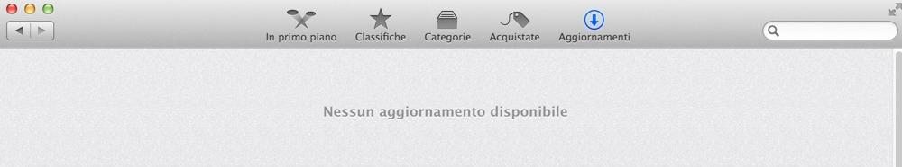 Aggiornamenti su Mac