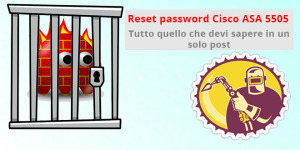 Reset password Cisco ASA 5505 (Password Recovery)