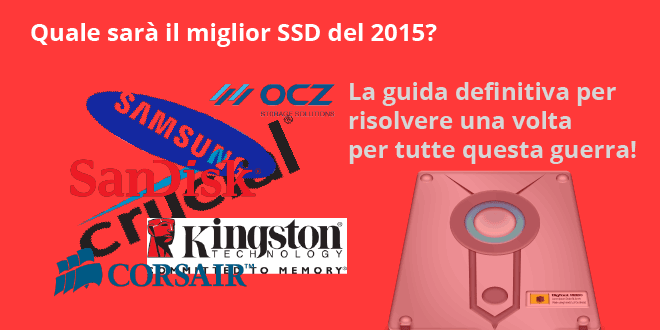 Migliori SSD 2015 - La classifica definitiva