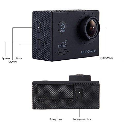 DBPOWER EX5000 Action Cam - La recensione completa