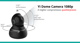Yi Dome Camera 1080p - Recensione completa