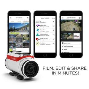 TomTom Bandit recensione applicazione modifica filmati