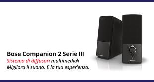 Bose Companion 2 Serie III – La recensione completa