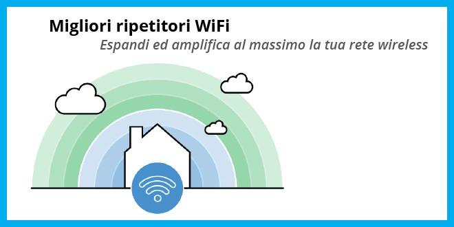 Migliori ripetitori WiFi - La lista definitiva