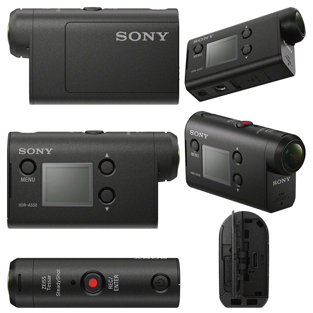 Sony HDR AS50 lati funzionalità