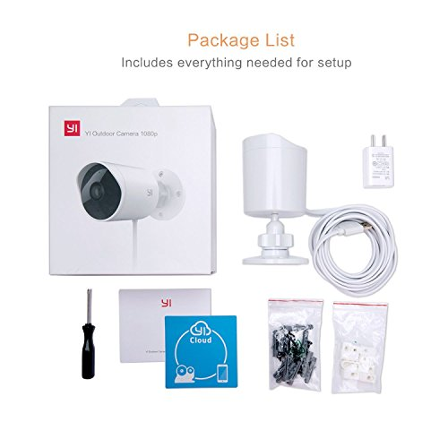 Yi Outdoor Security Camera - bundle di vendita