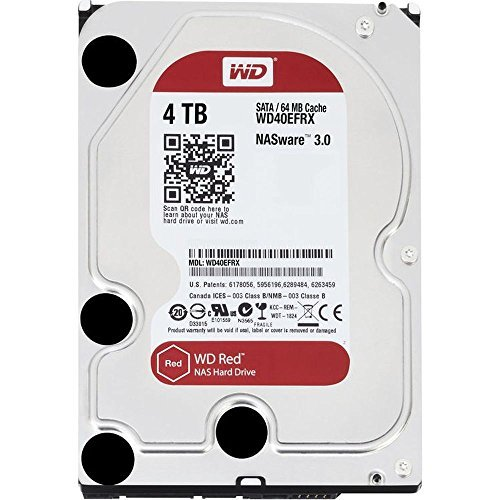 WD Red: Hard Disk per NAS - front