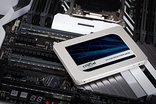 SSD Crucial MX500 - misure