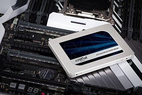 SSD Crucial MX500 - misure