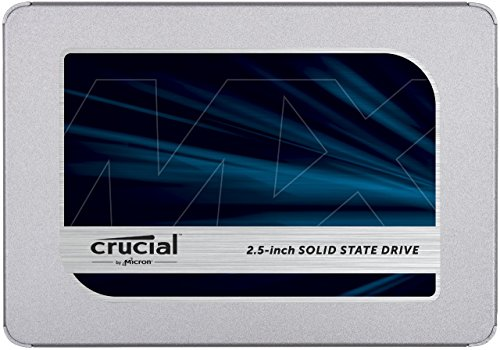 SSD Crucial MX500 - front