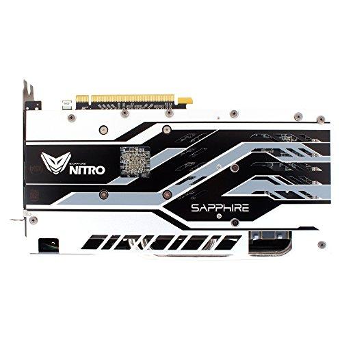Sapphire Radeon RX 580 Nitro+ 8 GB - backplate