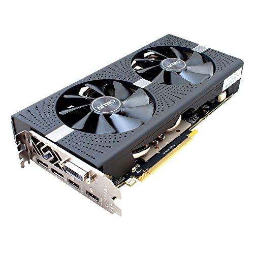 Sapphire Radeon RX 580 Nitro+ 8 GB - parte anteriore