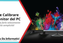 come calibrare un monitor per pc