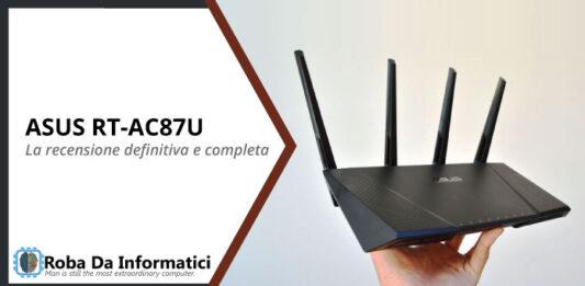 ASUS-RT-AC87U recensione completa