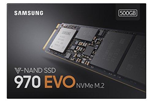 SSD Samsung 970 EVO 500 GB - confezione