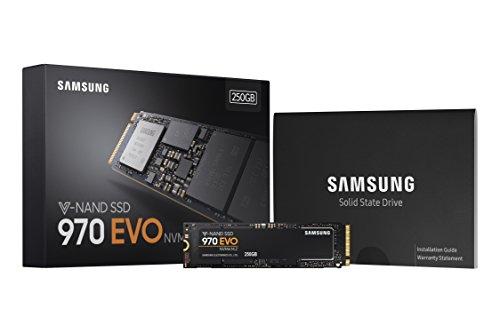 SSD Samsung 970 EVO 250 GB - scatola e ssd