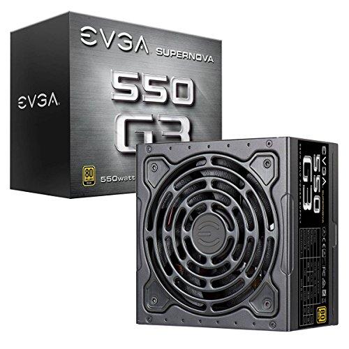 EVGA SuperNova G3 550 W - scatola e alimentatore