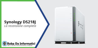 synology ds218J recensione