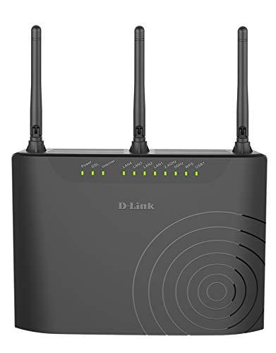 D-Link DSL-3682 Modem Router - front