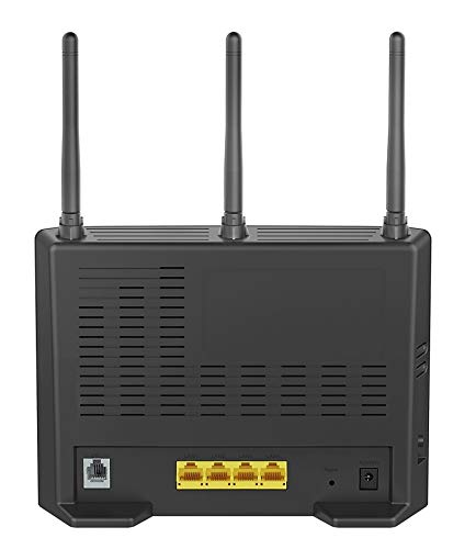 D-Link DSL-3682 Modem Router - back