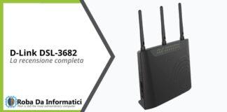 D-Link DSL-3682 recensione