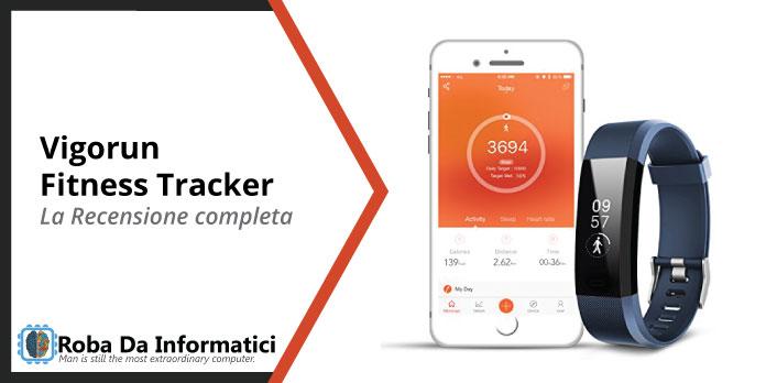 vigorun fitness tracker recensione