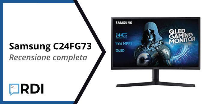 Samsung C24FG73 recensione