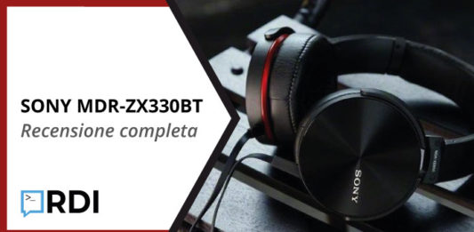 sony mdr zx330bt recensione