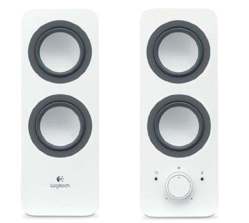 Logitech Z200: Stereo Speaker - bianche