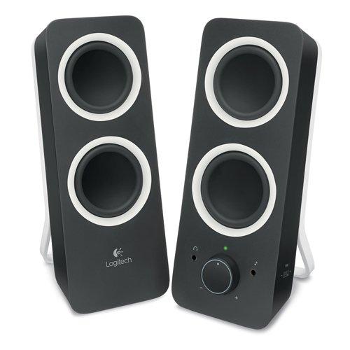 Logitech Z200: Stereo Speaker - nere