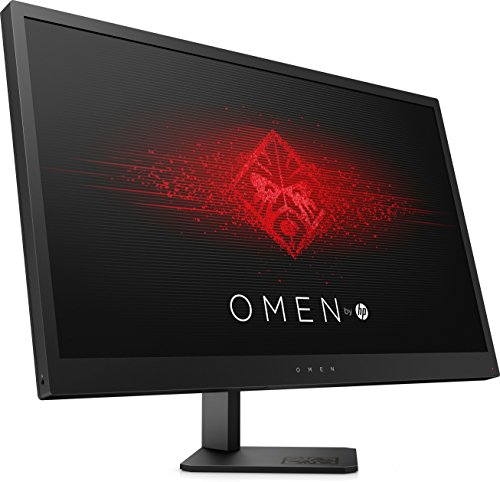 HP Omen 25 - side view