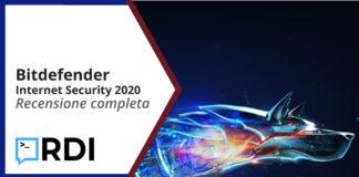 bitdefender internet security 2020 recensione