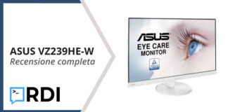 ASUS VZ239HE-W recensione
