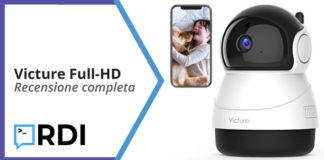 victure telecamera full hd recensione