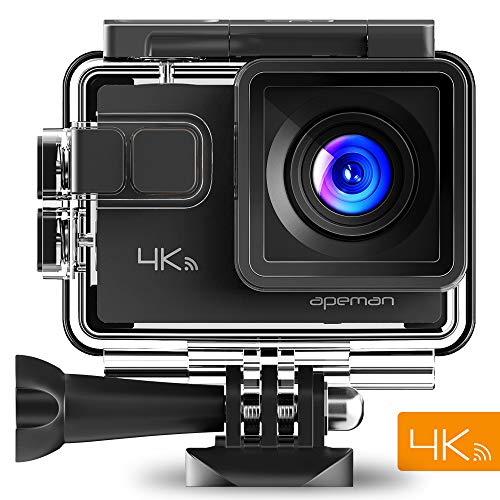 Apeman 4K: action cam - custodia impermeabile