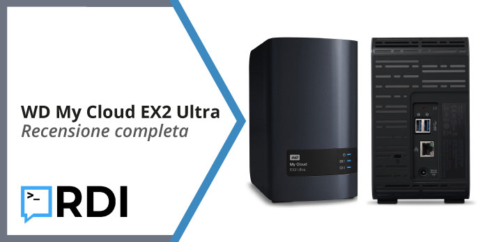 Western Digital My Cloud EX2 Ultra recensione