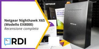 netgear nighthawk x6s ex8000 recensione