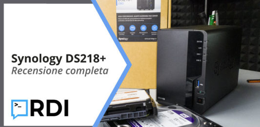 synology ds218 plus recensione