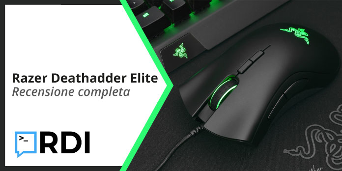 Razer Deathadder Elite: mouse da gaming - Recensione completa