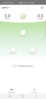Tenda Wi-Fi App configurazione