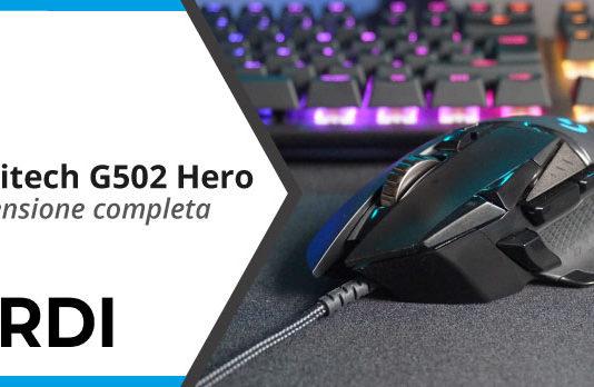 Logitech G502 Hero - Recensione completa
