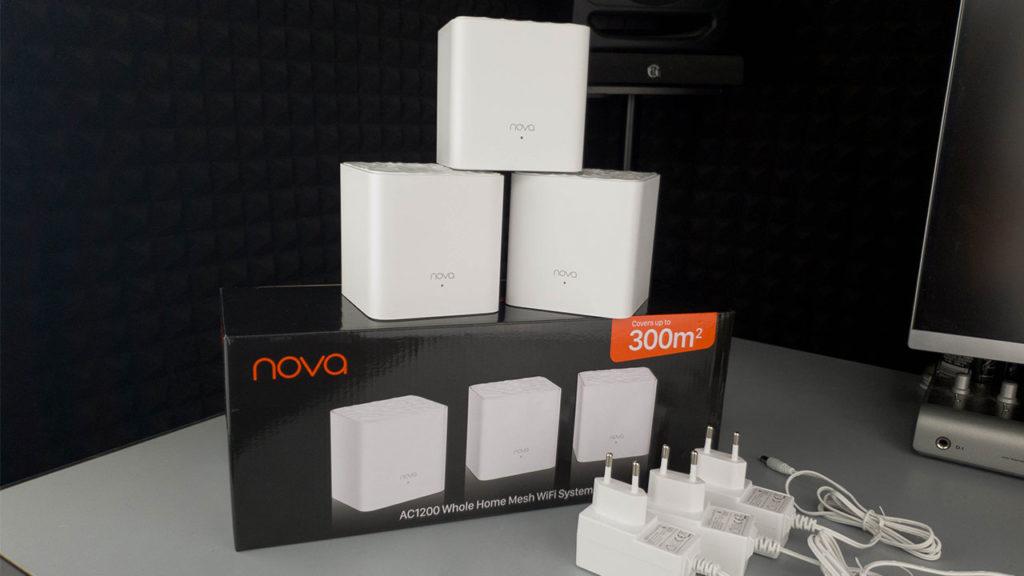 Tenda Nova Mesh Wi-Fi MW3 - confezione