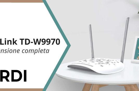 TP-Link TD-W9970 - Recensione completa