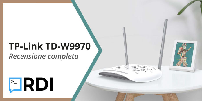 TP-Link TD-W9970 - Recensione completa