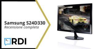 Samsung Monitor S24D330 - Recensione completa