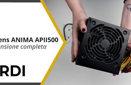 Tacens ANIMA APII500 - Recensione completa