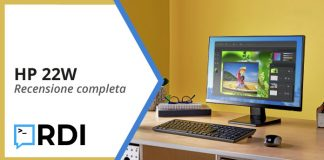 HP 22W: Monitor IPS - Recensione completa